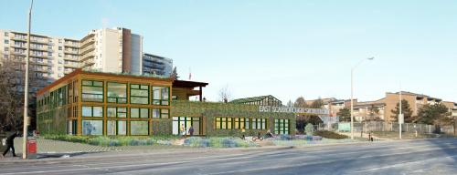 Scarborough Storefront Visualization - Image courtesy Sustainable.TO
